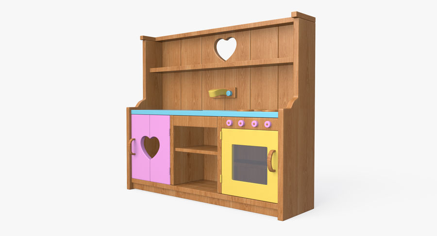 Kitchen Toy royalty-free 3d model - Preview no. 9