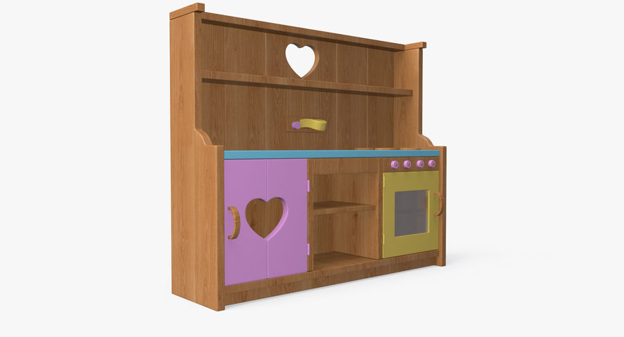 Kitchen Toy royalty-free 3d model - Preview no. 5