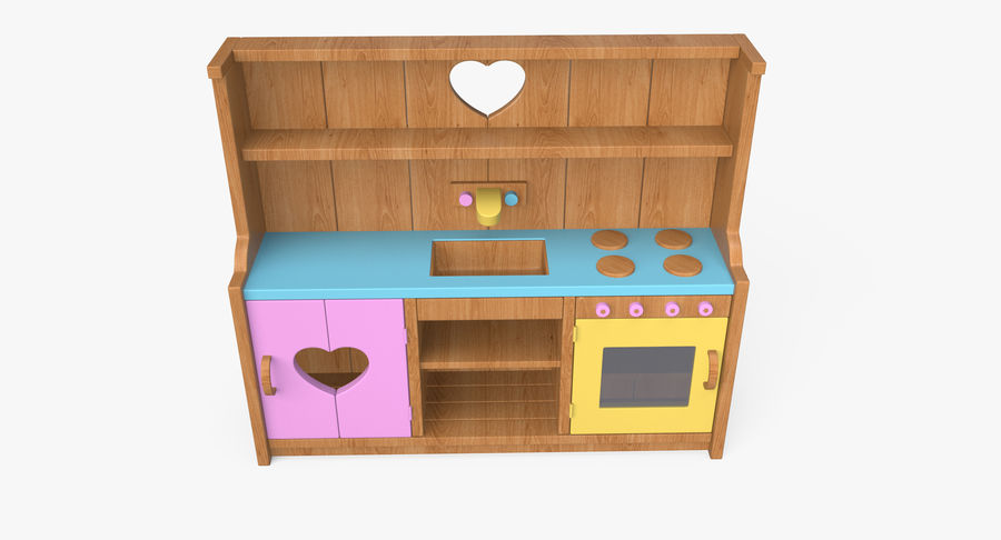 Kitchen Toy royalty-free 3d model - Preview no. 10