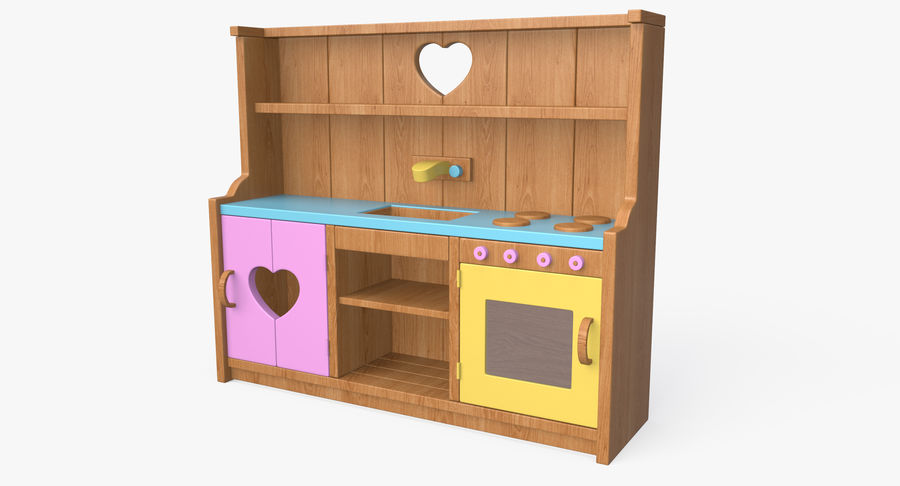Kitchen Toy royalty-free 3d model - Preview no. 2