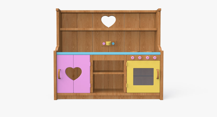 Kitchen Toy royalty-free 3d model - Preview no. 4