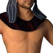 Uomo caucasico 3d model