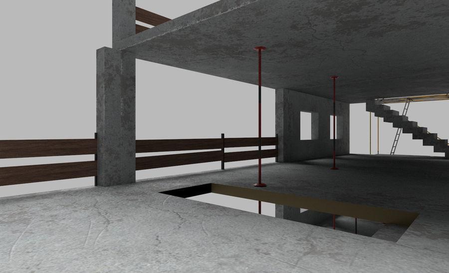建筑施工元素3d模型 royalty-free 3d model - Preview no. 7
