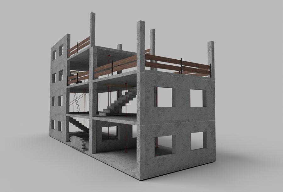 建筑施工元素3d模型 royalty-free 3d model - Preview no. 3