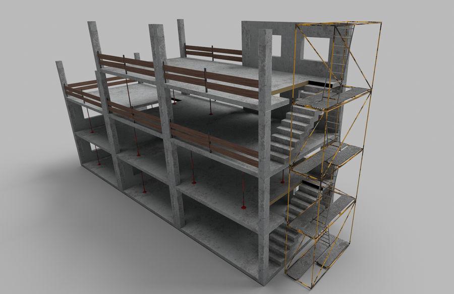 建筑施工元素3d模型 royalty-free 3d model - Preview no. 5