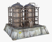 Tanks Containers 3d model
