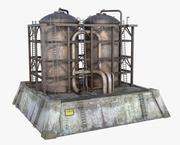 タンクコンテナ 3d model