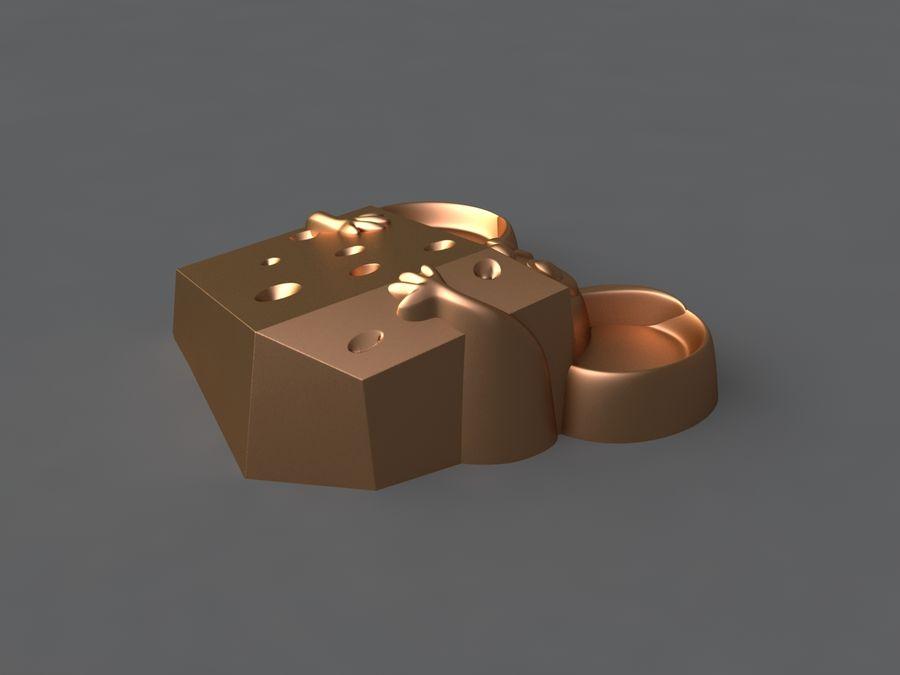 Mysz royalty-free 3d model - Preview no. 8