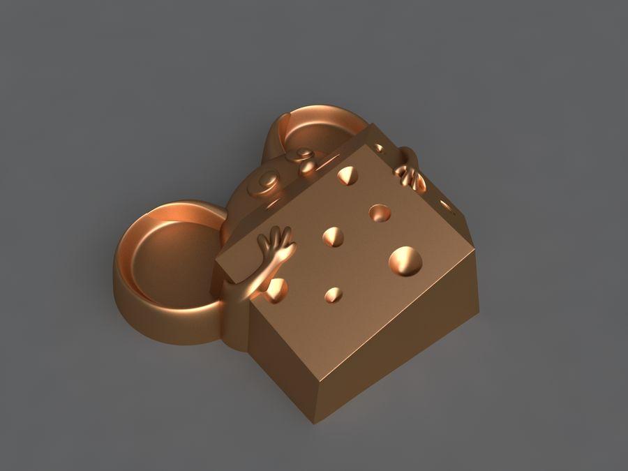 Mysz royalty-free 3d model - Preview no. 2