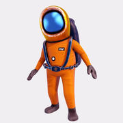 Uzay Mühendisi 3d model