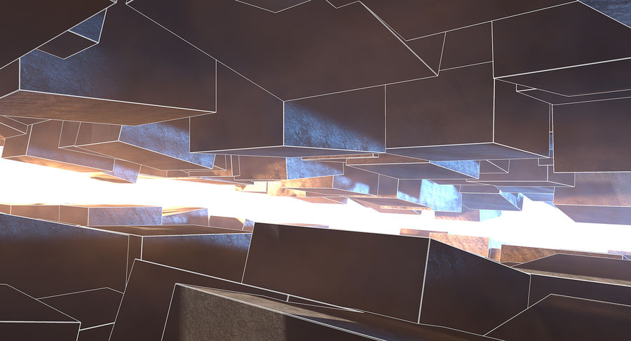 Concept Architecture Environment royalty-free 3d model - Preview no. 3