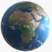 地球惑星 3d model