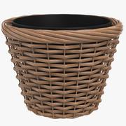 Empty Pot 3d model