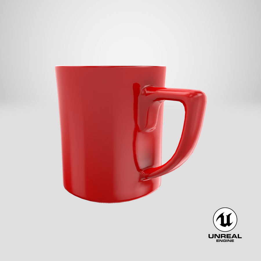Coffee Cup royalty-free 3d model - Preview no. 21