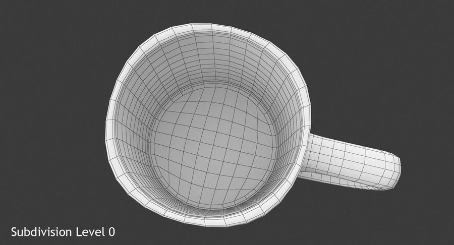 Coffee Cup royalty-free 3d model - Preview no. 12
