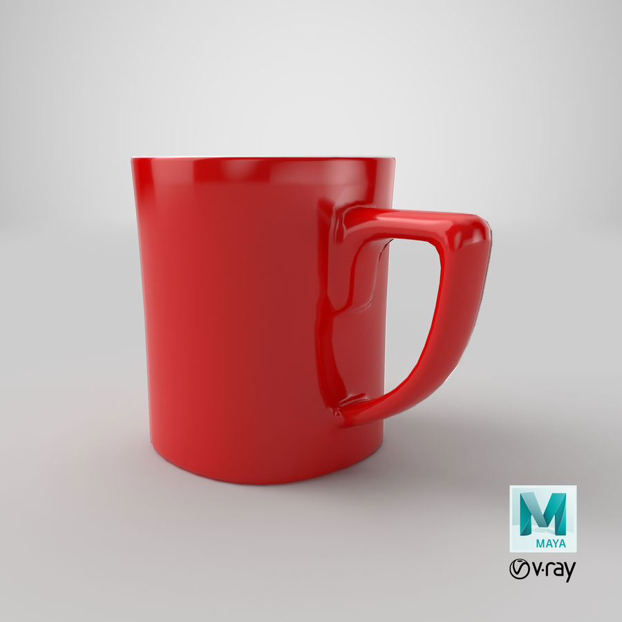 Coffee Cup royalty-free 3d model - Preview no. 17