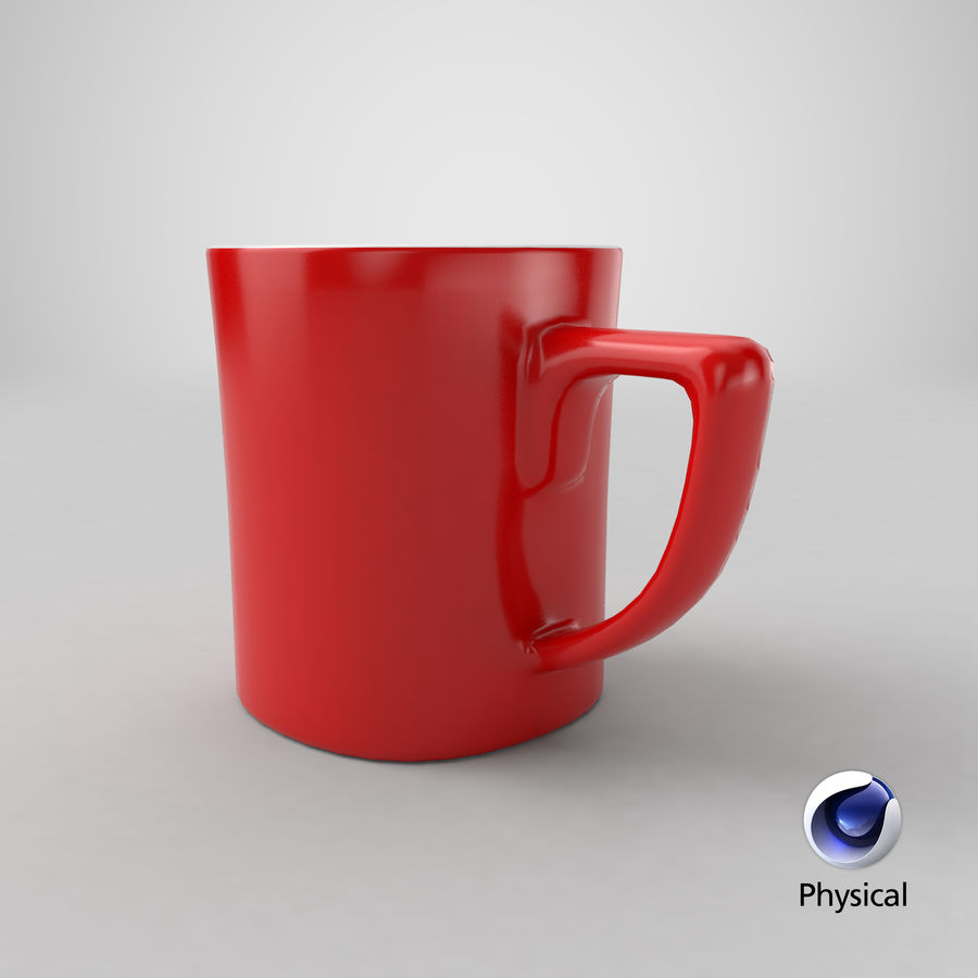 Coffee Cup royalty-free 3d model - Preview no. 23