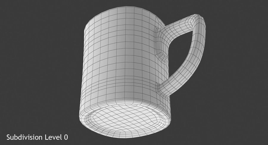 Coffee Cup royalty-free 3d model - Preview no. 14