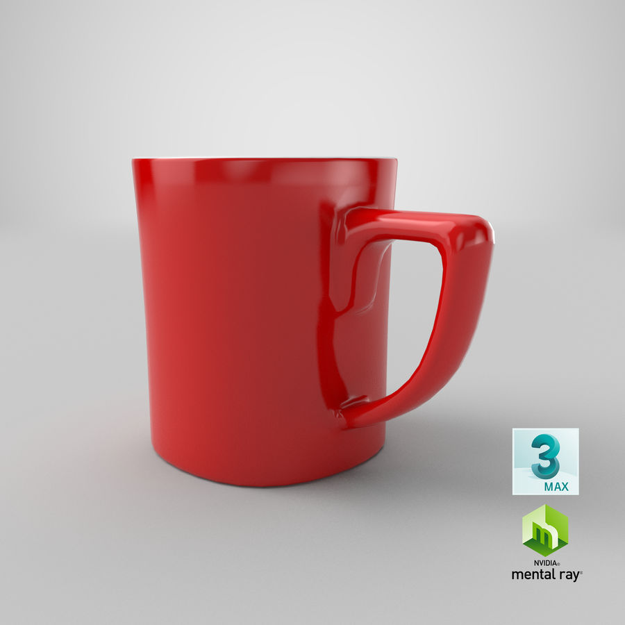 Coffee Cup royalty-free 3d model - Preview no. 20