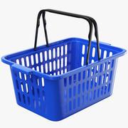 Empty Shopping Basket 3d model