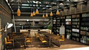 Café fresco 3d model