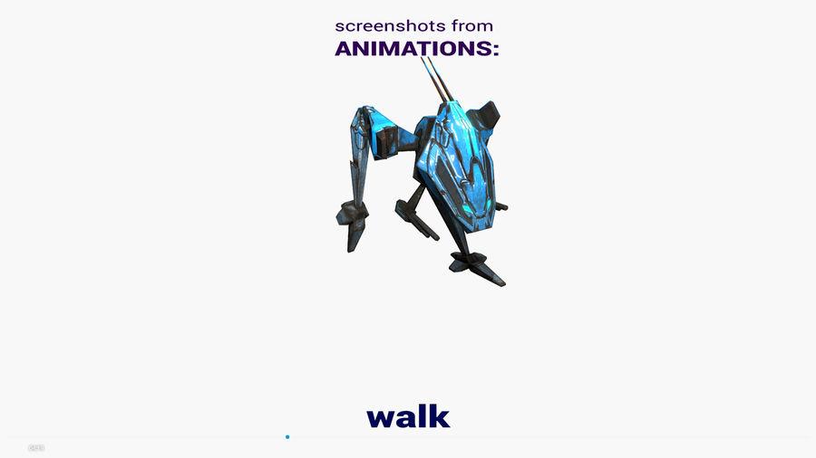 Mech Walker animato royalty-free 3d model - Preview no. 17