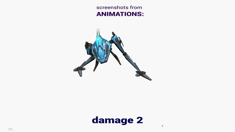 Mech Walker animato royalty-free 3d model - Preview no. 23