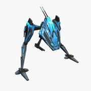 Mech Walker animato 3d model