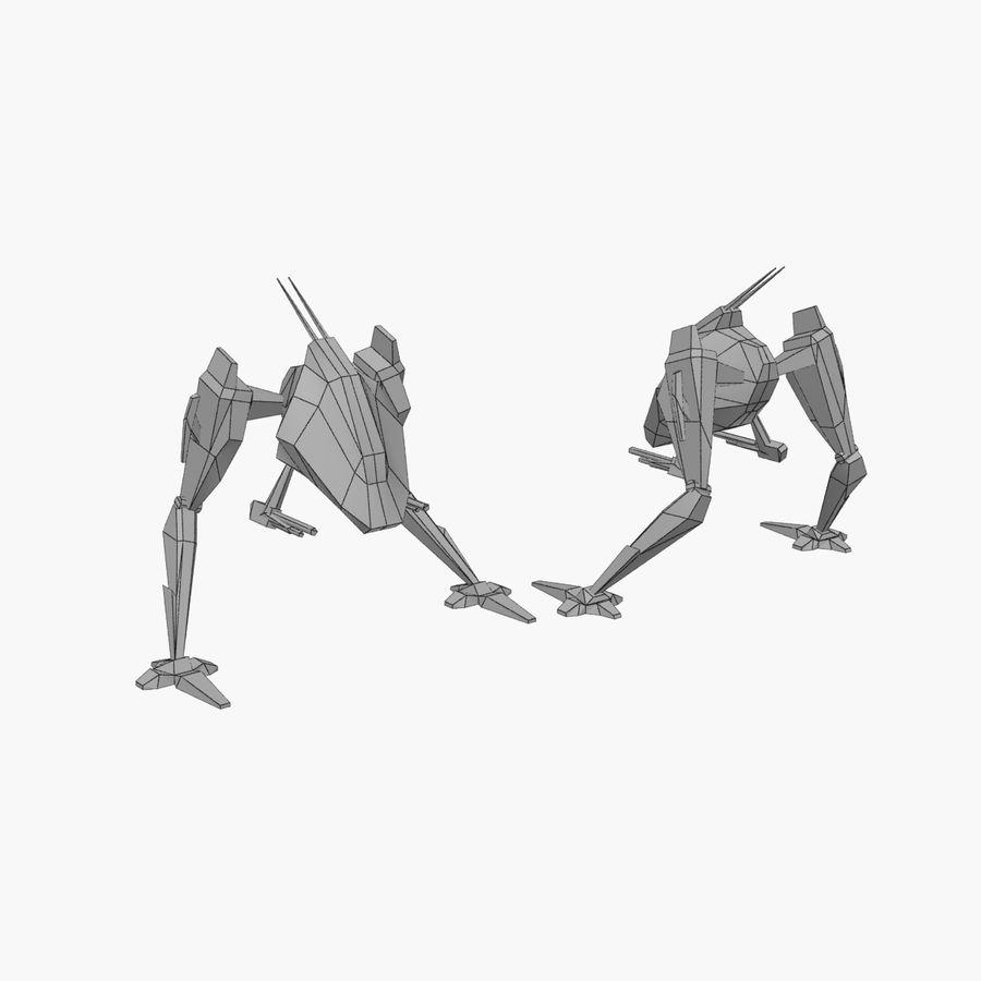 Mech Walker animato royalty-free 3d model - Preview no. 2
