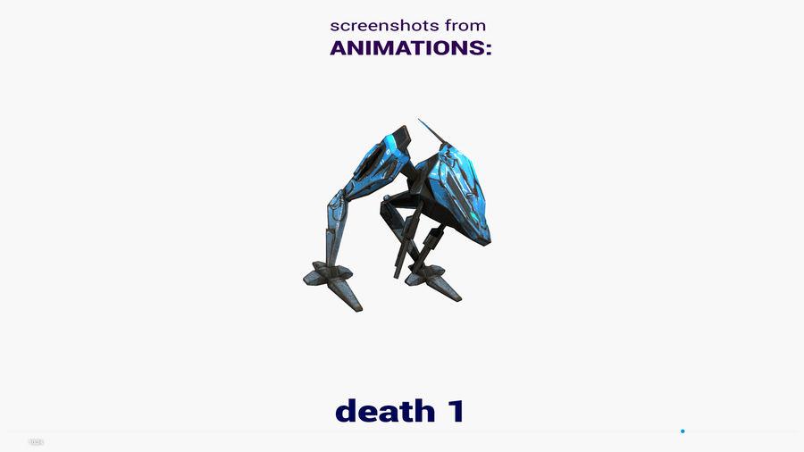Mech Walker animato royalty-free 3d model - Preview no. 24