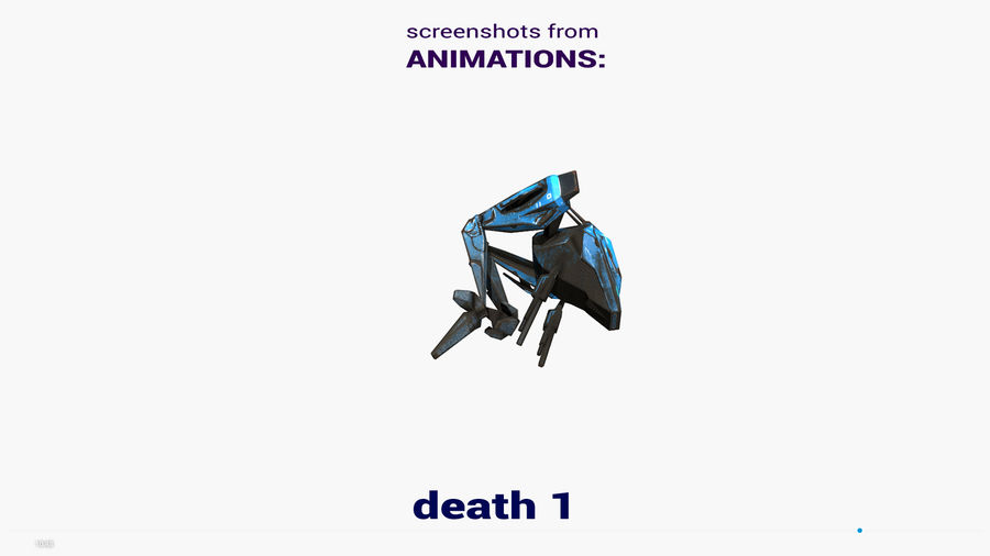 Mech Walker animato royalty-free 3d model - Preview no. 25