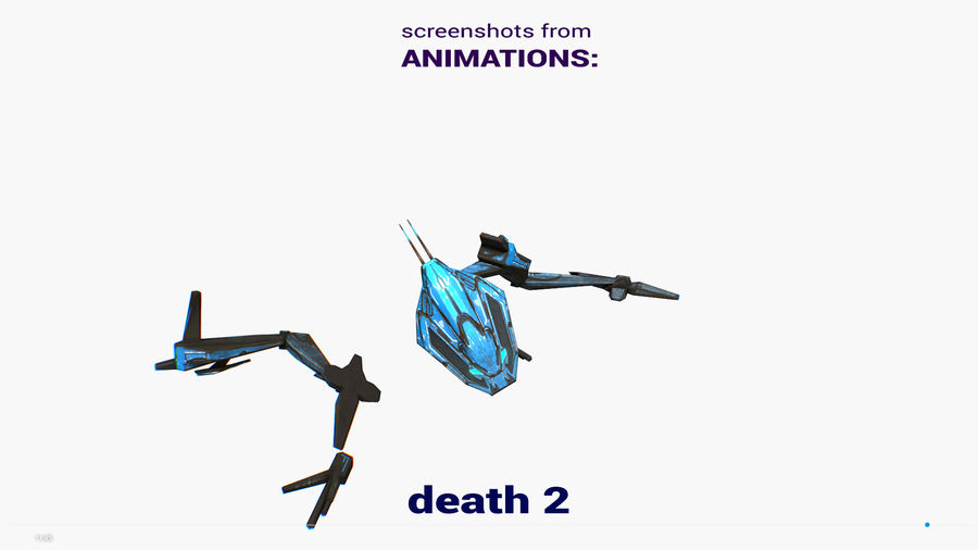 Mech Walker animato royalty-free 3d model - Preview no. 27
