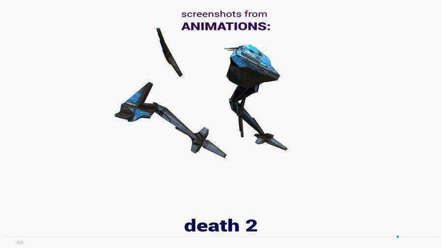 Mech Walker animato royalty-free 3d model - Preview no. 26