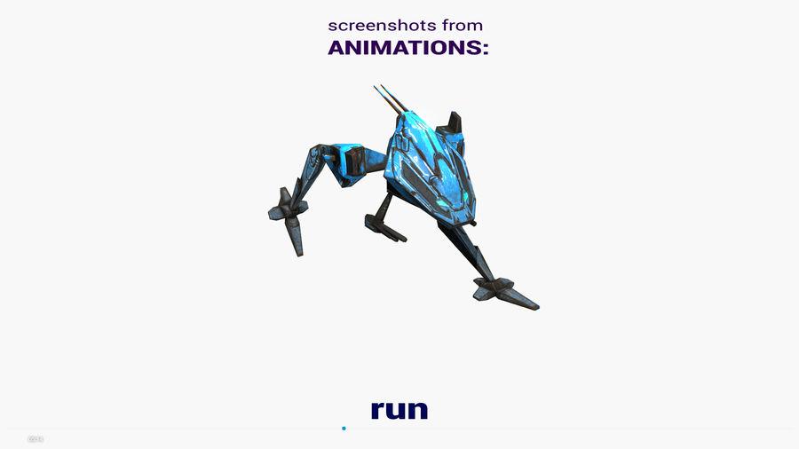 Mech Walker animato royalty-free 3d model - Preview no. 18