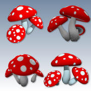 Cogumelo 3d model