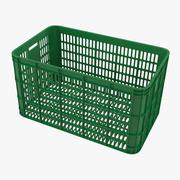 Green Crate 3d model