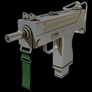 Pistola ametralladora modelo 3d