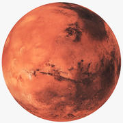火星星球 3d model