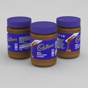 Cadbury Milk Chocolate Spread 400g 3d model