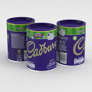 Cadbury Питьевая Шоколадная банка 500г 2019 3d model