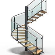 现代楼梯6 3d model