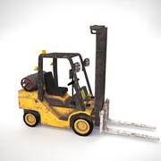 Forklift Lowpoly Gameready 3d model