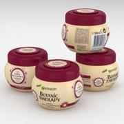 Garnier Botanic Therapy Ricinus Oil & Almond Fortifying Mask 300ml 3d model
