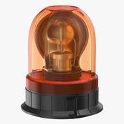 Emergency Lamp 3d model
