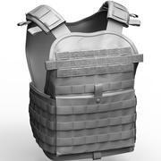 Condor Modular Operate Plate Carrier Vest 3d model