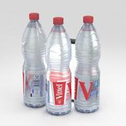 Botella de agua Vittel 1500ml modelo 3d