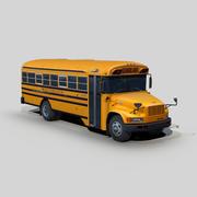 国際3800スクールバス 3d model