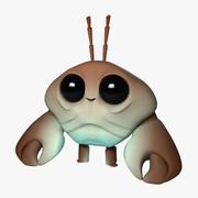Cartoon Mr. Crab 3d model