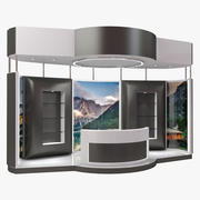 Exhibition Expo Stand(1) 3d model