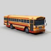 Blue Bird TC2000 transit bus 3d model